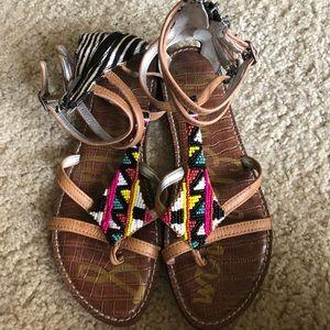 Colorful Sam Edelman sandals